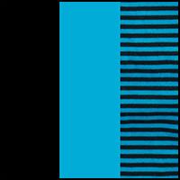 Topaz/Stripe/Black