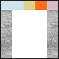 White/Grey Heather