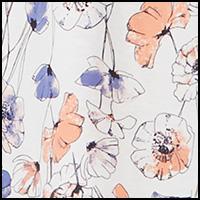 Floral Denim Print