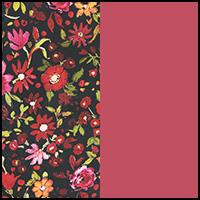 Ditsy Flower/Claret
