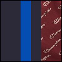 Blue/Maroon/Black