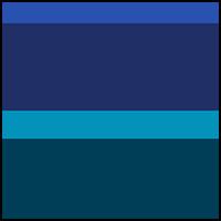 Dazzling Blue/Capri