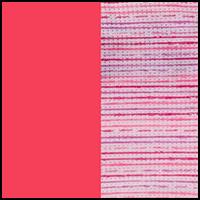 Stripe Print/Neon Pink