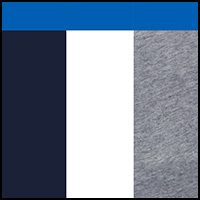 Blue/Grey/White
