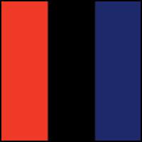 Black/Royal/Red