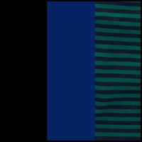 Black/Blue/Teal Stripe
