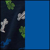 Blue/Navy/Cacti