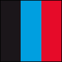 Blue/Red/Black