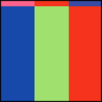 Green/Blue/Red