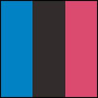 Pink/Black/Blue