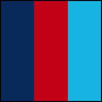 Red/Navy/Light Blue