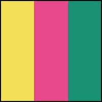 Yellow/Pink/Green