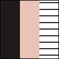 Shell/Black/Stripe