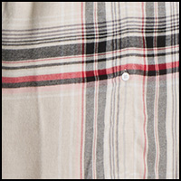 Shell Heather Plaid