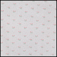 White Floral Confetti