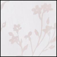 White Floral Burnout