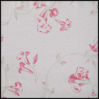 White Floral Scroll