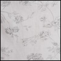 White w/Grey Floral