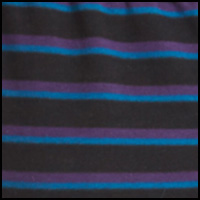 Black/Graphic Stripe