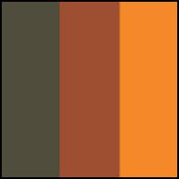 Khaki/Bronze/Orange