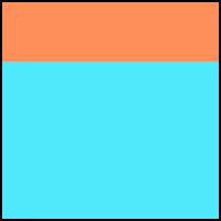 Orange/Aqua