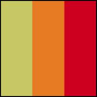 Yellow/Orange/Red