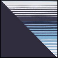 Blue Stripes/Navy