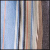 Orange Blue Stripe