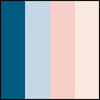 Buff/Blue/Pink/Teal