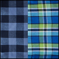 Blue/Green Plaid