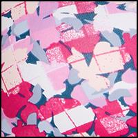 Pink Floral Grid