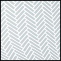 Grey Herringbone Print