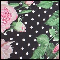 Rose Dot Black