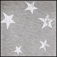 Heather Grey Stars
