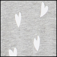 Heather Grey Hearts