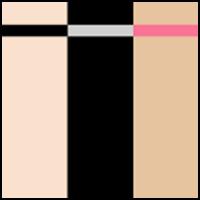 Black/Nude/Rose