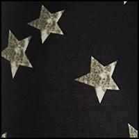 Black Distressed Star