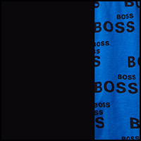 Black/Boss Blue