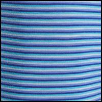 Stripe Colbalt/Capri