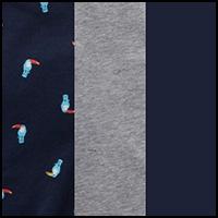 Blue/Blue Print/Grey