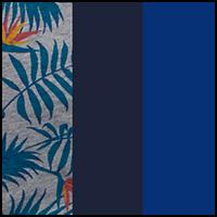 Blue/Print/Monaco Blue
