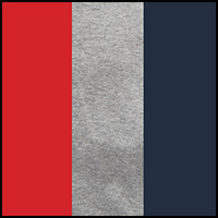 Dress Blue/Grey/Red