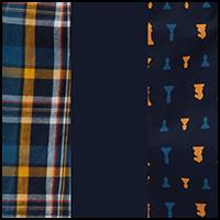 Dress Blues/Plaid