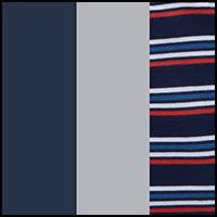 Dress Blue/Stripe/Grey
