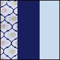 Blue/Geo Print/Navy