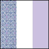 Crochet/Lilac/White