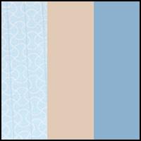 Geo Line/Peach/Blue