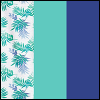 Jade/Ombre Palm/Blue