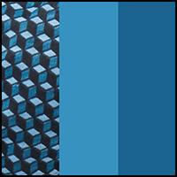 Medium Denim/CubeBlue