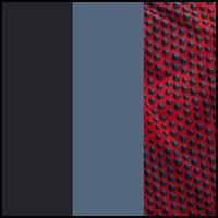 Midnight Grey/Camo red